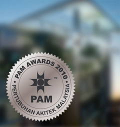 pam awards best colour building 2010